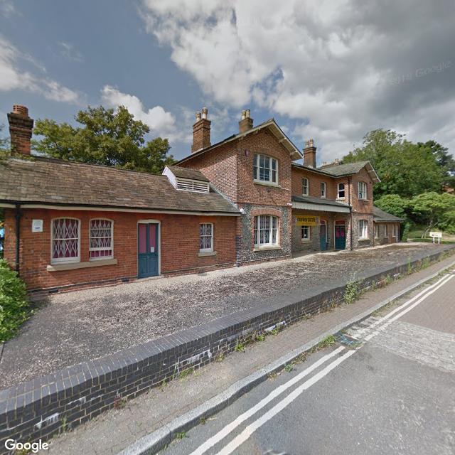 Former St Albans London Road station
